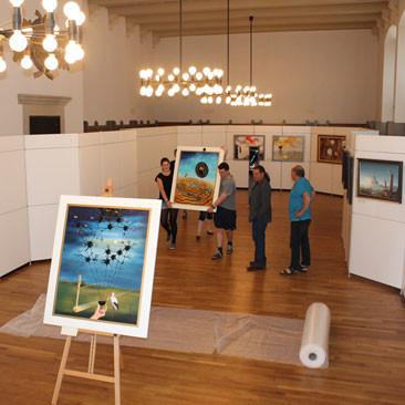25. Mai: Ausstellungsabbau