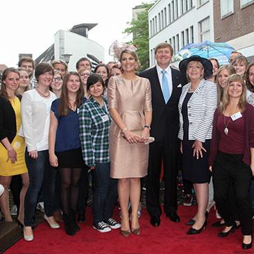 27. Mai: Königlicher Besuch im ZNS - Abschluss