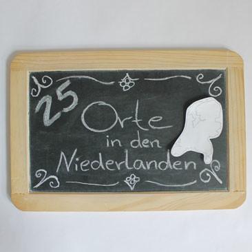 25. August: 25 Orte in den Niederlanden