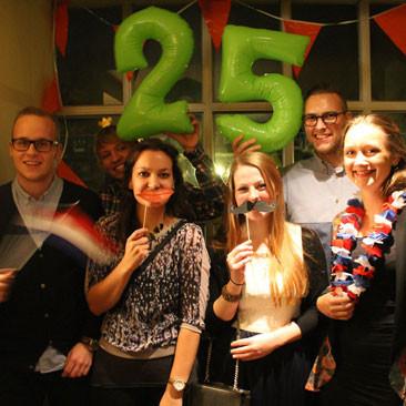17. November: Impressionen der großen Geburtstagsparty am 14. Novebmer 2014