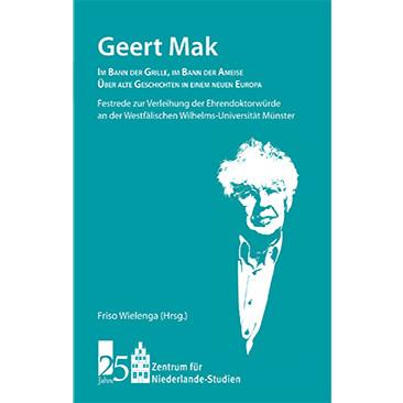 26. März: Geert Mak: Im Bann der Grille - Im Bann der Ameise